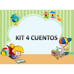 Kit 4 Cuentos